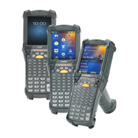 Picture of Zebra MC9200 Android