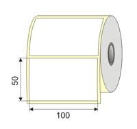 "Picture of Nalepnica papir bela 100x50  1"""