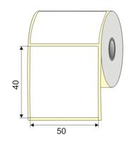 "Picture of Nalepnica papir bela 50x40 1"""