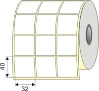 "Picture of Nalepnica papir bela 32x40 3"""