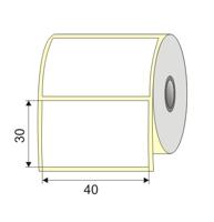 "Picture of Nalepnica papir bela DT 40x30 1"" H76"