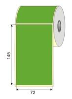 """Picture of Nalepnica papir zelena DT 72x145 1"""""""