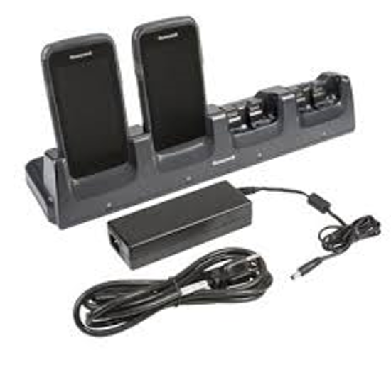 Picture of Four Dock charger Honeywell Dolphin CT60