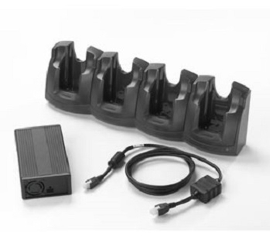 Picture of Four Charger Zebra MC55X / MC67
