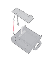 Picture of Honeywell 6824 Printer Terminal Holder
